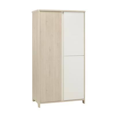 Armoire 3 portes Galipette Sacha - Blanc bois