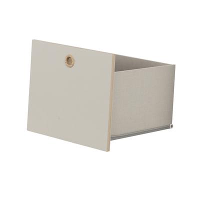 Option 1 tiroir pour chambre Galipette Lora - Gris perlé
