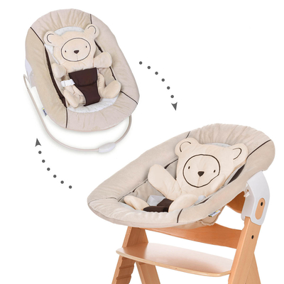 Transat Hauck Alpha Bouncer 2in1 - Hearts Beige