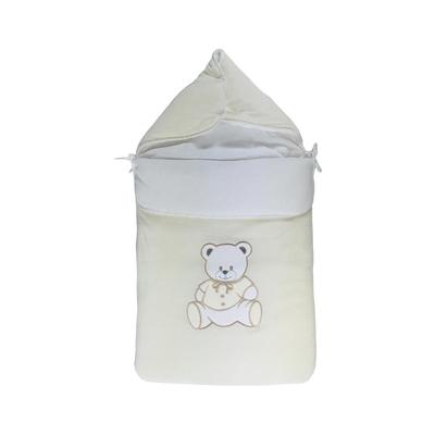 Nid d'ange pour bébé 0 à 6 Mois beige - Motif Nounours