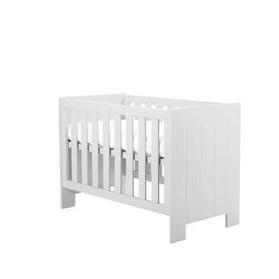 Lit bébé 60x120 Pinio Calmo - Blanc
