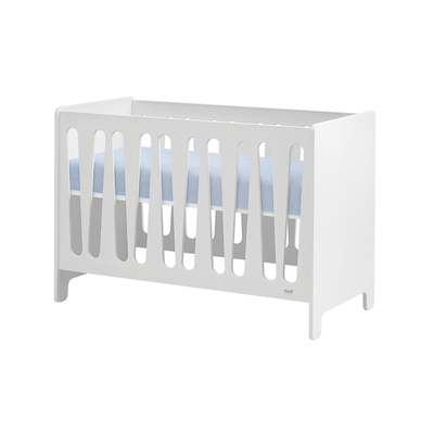 Lit bébé 60x120 Pinio Moon - Blanc