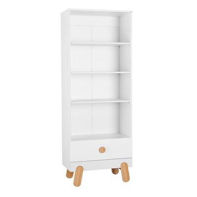 Bibliothèque Pinio Iga - Blanc et bois