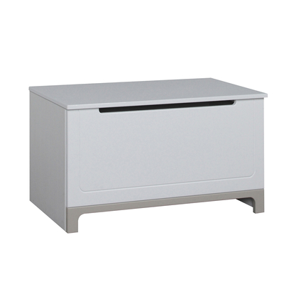 Coffre à jouets Pinio Mini - Blanc et gris