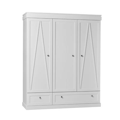 Armoire 3 portes Pinio Marie - Blanc