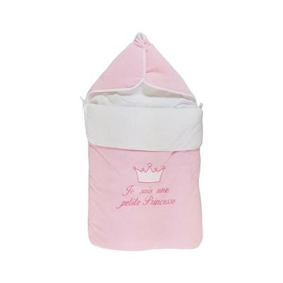 Nid d'ange pour bébé 0 à 6 Mois rose - Je suis une petite princesse