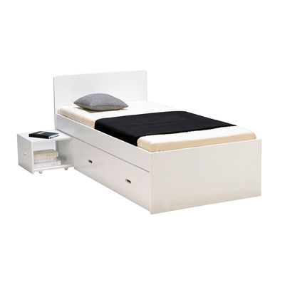 Lit junior 90x190 Weber Industries Zenia - Blanc