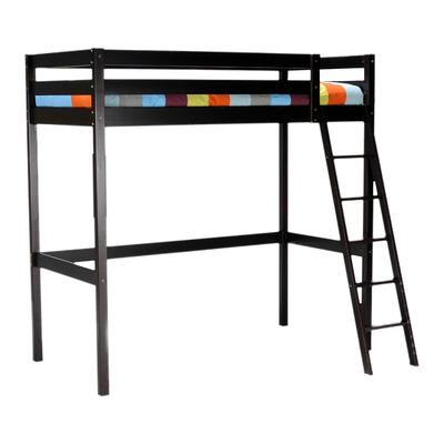 Lit mezzanine 90x190 Weber Industries Studio - Noir