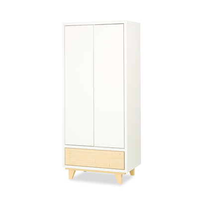 Armoire 2 portes LittleSky by Klups Lydia - Blanc