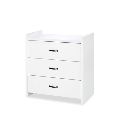 Commode 3 tiroirs LittleSky by Klups Amelia White - Blanc