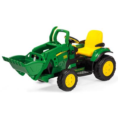 Tracteur 1 place avec pelleteuse 12 volts Peg Perego - John Deere Loader