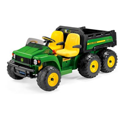 Tracteur 2 places avec benne de Peg Perego 24 volts - John Deere Gator HPX 6x4