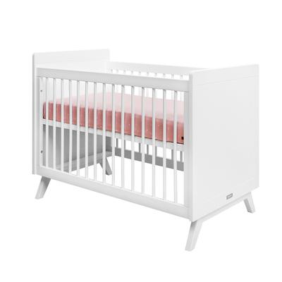 Lit bébé 60x120 Bopita Fiore - Blanc