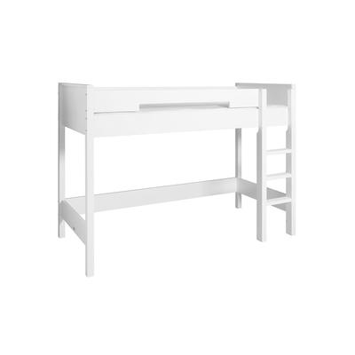 Lit mezzanine 90x200 Bopita Seppe - Blanc