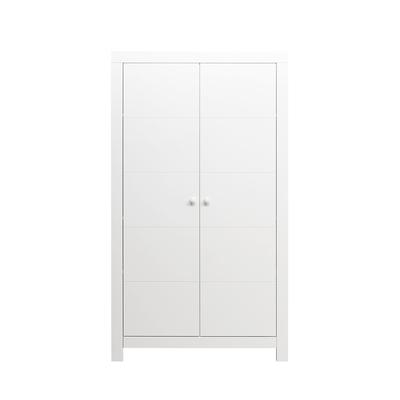 Armoire 2 portes Bopita Hugo - Blanc