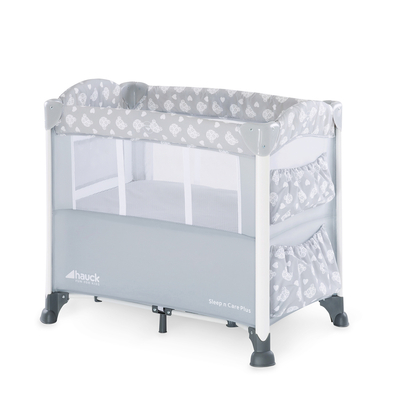 Lit de voyage Hauck Sleep N Care Plus - Teddy grey