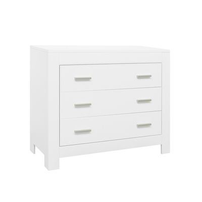 Commode 3 tiroirs Bopita Merel - Blanc