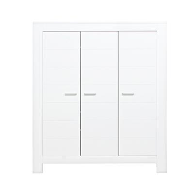 Armoire 3 portes Bopita Merel - Blanc