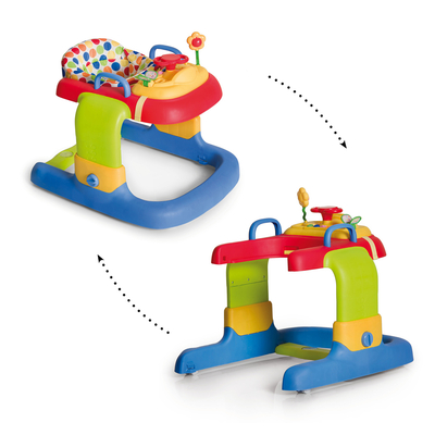 Trotteur Pousseur 2in1 Walker Hauck - Dots