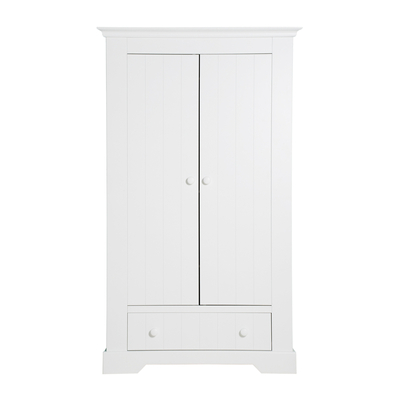 Armoire 2 portes Bopita Narbonne - Blanc