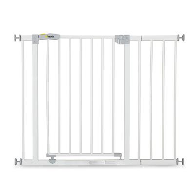 Barrière de sécurité Hauck Open N Stop + 21 cm extension - White