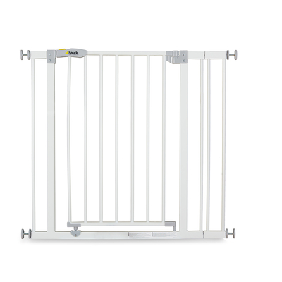 Barrière de sécurité Hauck Open N Stop + 9 cm extension - White