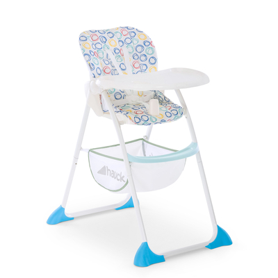 Chaise Haute Hauck Sit'nFold - Circles multi