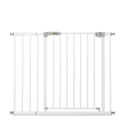Barrière de sécurité Hauck Stop N Safe 2 + extension 21 cm - Blanc