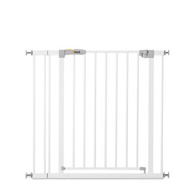 Barrière de sécurité Hauck Stop N Safe 2 + extension 9 cm - Blanc