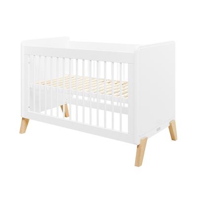 Lit bébé 60x120 Bopita Mila - Blanc