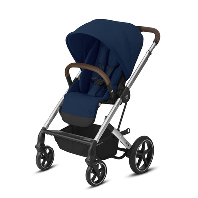 Poussette Buggy Cybex Balios S Lux - Silver Navy Blue