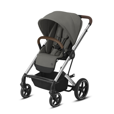 Poussette Buggy Cybex Balios S Lux - Silver Soho Grey