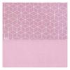 Drap Jollein 120x150cm Graphic - Rose