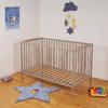 Lit bébé 60x120 Weber Industries Ludo - Taupe