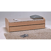 Lit gigogne - 2 sommiers - 1 tiroir-lit 90x190 Weber Industries Swing - Chêne blanchi