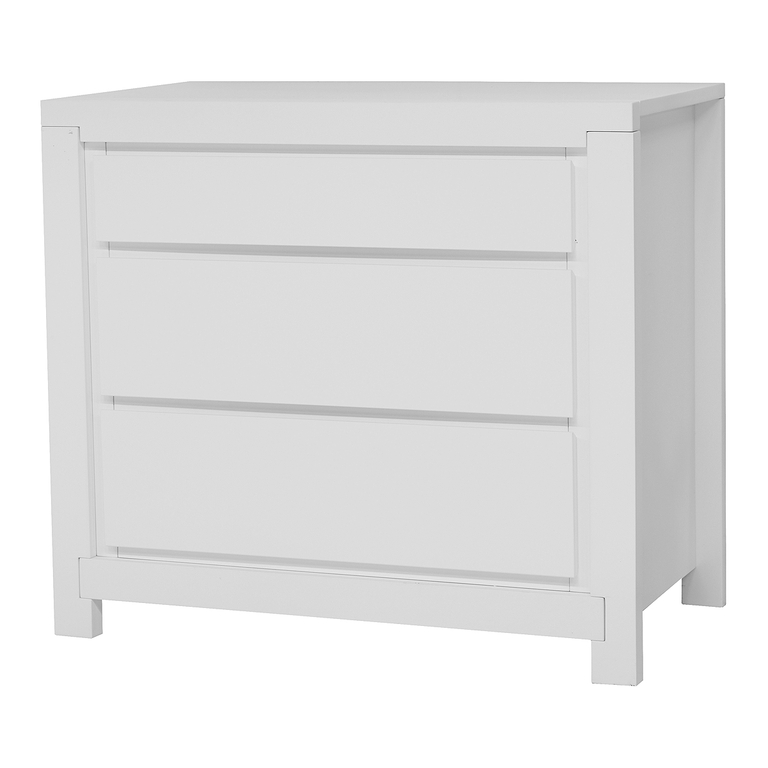Commode à langer Twf Malibu - Blanc - Rangements/Commode - tendresse ...