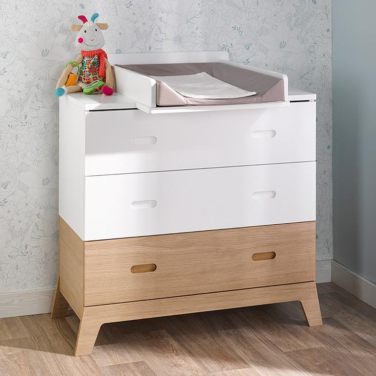 plan langer pour commode b b provence archipel blanc rangements accessoires tendresse. Black Bedroom Furniture Sets. Home Design Ideas