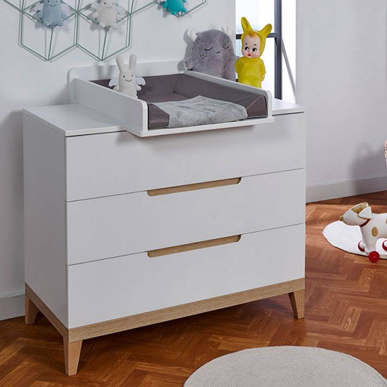 Commode langer b b provence evidence blanc h tre rangements commode tendresse de b b - Plan a langer universel commode ...