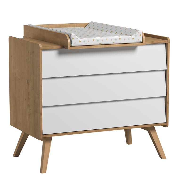 plan langer pour commode vox vintage bois rangements accessoires tendresse de b b. Black Bedroom Furniture Sets. Home Design Ideas