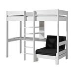 Vipack_Pino_lit_mezzanine_90x200_fauteuil_blanc