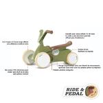 BERG_GO2_Retro_Green-left-slanted-pedal-open