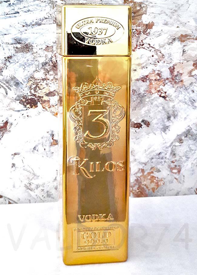 VODKA KILOS 3 GOLD 999.9  - 2019 04