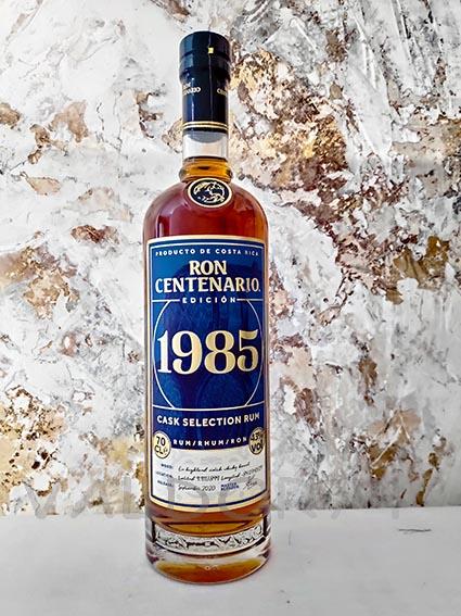 RHUM CENTENARIO 1985   2020-12
