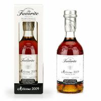 Rhum LA FAVORITE Hors d'Age 2009 Fût Unique Cognac AOC Martinique 70cl 48°