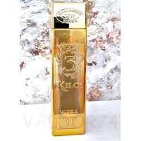 VODKA 3 KILOS GOLD 999.9 PREMIUM 100cl 40°