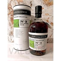 RHUM DIPLOMATICO COLLECTION N°3 POT STYLL RUM 70cl 47° à 59 euro