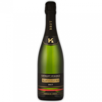 Vin d'Alsace CREMANT Domaine Klipfel à Barr 75cl 12° à 9€