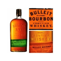 BULLEIT SMALL BATCH 70cl 45° Straight 95% RYE Frontier  Whiskey Louiseville Kentucky