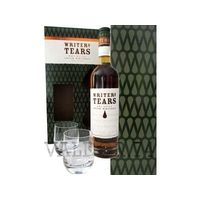 COFFRET WRITER'S TEARS  IRISH POT STILL  WHISKEY 70cl 40° + 2 VERRES à 39€