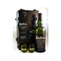 Coffret Whisky ARDBEG ESCAPE Islay_Single-Malt 70cl 46° + 2 verres Ardbeg